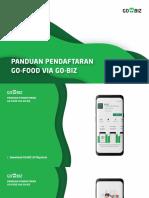 Panduan Pendaftaran GO-FOOD via GO-BIZ