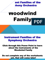 Woodwind Family PPT