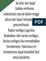 Gejala ruptur esofagus.pptx
