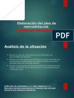 Elaboración Del Plan de Mercadotecnia