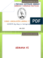 Legislación Laboral y Tributaria - Semana 6