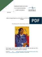Análise de Imagem Figurativa na obra Mulher com a Flor (1891) do artista francês Paul Gauguin