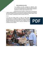 Crisis Económica en El Peru