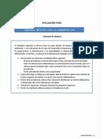 Rúbrica de Evaluación Final 2019-10