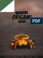 Origami Spider by Fynn Jackson