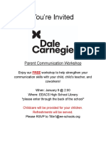 carnegie flyer - google docs