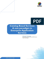 Catalog Based Services