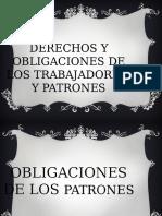 291757585 Derechos y Obligaciones de Los Trabajadores y de Los Patrones