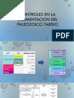 Controles en La Sedimentacion Del Paleozoico Tardio