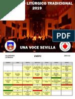 Calendario Liturgico Tradicional 2019 Una Voce Sevilla