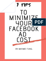 7 Tips to Minimize Your Facebook Ads cost _ebook