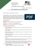 Proforma Web para Municipalidad
