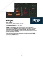 Audiority Deleight Manual