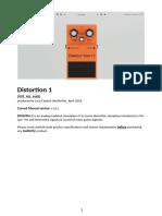 Audiority DistortionOne Manual
