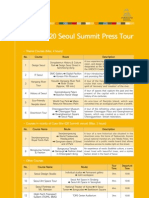 G20_Seoul Summit Press Tour
