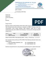 Surat Permohonan K Mob DPK PNS
