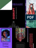 Art After Dark Disrupt Brochure
