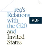 Korea's Relations With G20 and Invited States