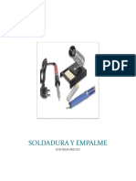 SOLDADURA Y EMPALME