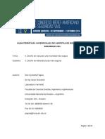 Caracteristicas Superficiales de Carpetas de Rodamiento y La SV-Marta Pagola
