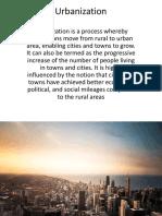Unit 1_5 Urbanisation