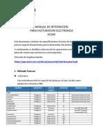 Manual Integracion Ws Fe v2 Ecom