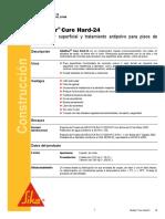 Endurecedor Superficial Tratamiento Antipolvo Pisos Concreto Sikafloor Cure Hard 24 10