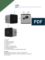 Quelima SQ13 Manual