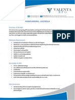 Job Description - Paraplanning - AU