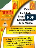 La primera misión
