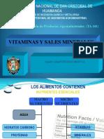 Vitaminas y Minerales Clase