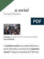 Justicia Social - Wikipedia, La Enciclopedia Libre