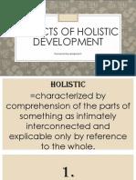 Aspects of Holistic Development