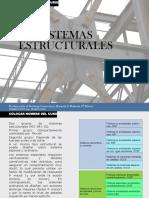 1.-Sistemas Estructurales Resistentes a Cargas Laterales