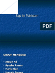 Sap in Pakistan