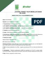 IRT Nacional Rapido y Blitz Medellin Cidad de Luces 2018