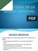 Historia de La Iglesia Medieval