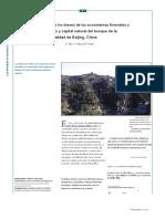 valoracion forestal