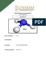 Monografía Del Amoniaco(NH3)