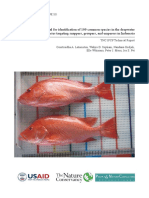 TNC Manual Identification of some demersal fishes