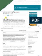 Risks and Hazards of Hydrogen Sulphide