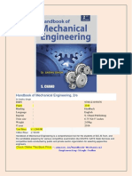 A Handbook Of Engineering Terms