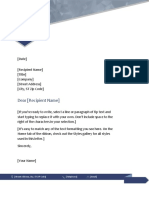 Jenis surat kreasi dengan MS Word