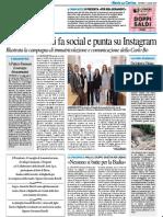 L'Università si fa social e punta su Instagram / A Palazzo Passionei il convegno dei matematici - Il Resto del Carlino dell'11 luglio 2019