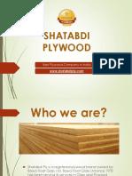 Shatabdi Plywood