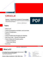 Oracle R Enterprise Overview