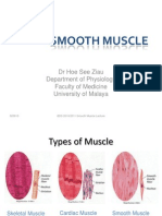 Smooth Muscle BDS 2010-2011