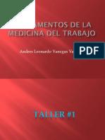 Fundamentos de La Medicina Del Trabajo 2016