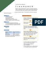 Multihardner Catalog