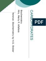 Carbohydrates PDF